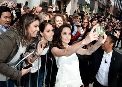 أنجلينا جولي في  مهرجان تورونتو السينمائي الدولي