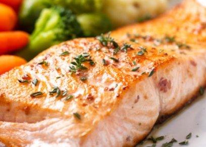 فوائد سمك السلمون لمحاربة السرطان