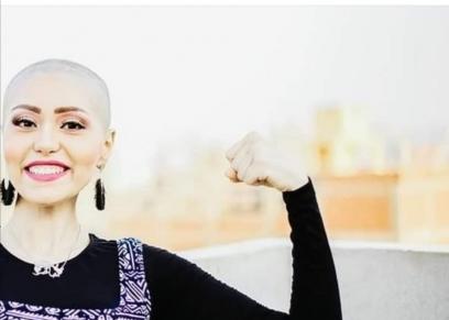 إيمان أحمد محاربة سرطان