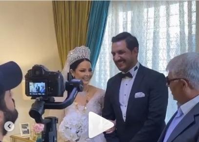 زفاف ديانا كرازون