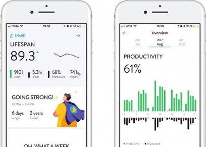 تطبيق جديد يساعد في معرفة ما تبقى من العمر