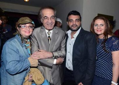 أسرة الفنان محمود ياسين