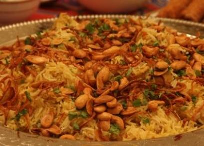 طريقة عمل الأرز بالجمبري