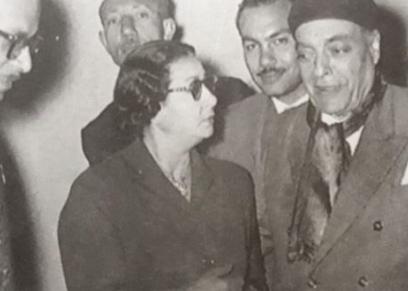 الشيخ زكريا أحمد وأم كلثوم
