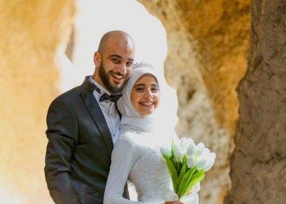 عائشة طه وزوجها