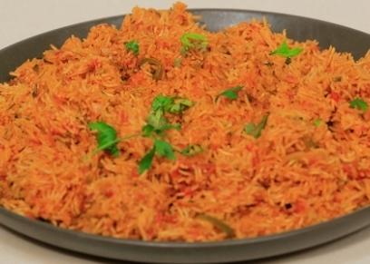 طريقة عمل أرز مكسيكي