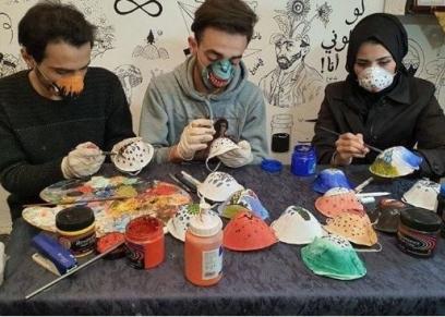 مبادرة التلوين على الكمامات للوقاية من فيروس كورونا