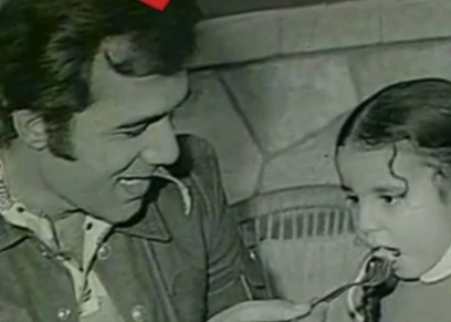 رانيا محمود ياسين مع والدها