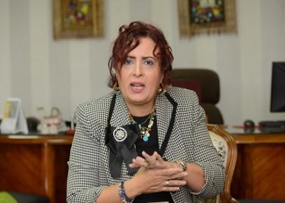 الأمين العام للمجلس القومى للطفولة والأمومة-عزة العشماوي-صورة أرشيفية