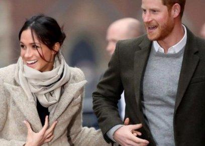 ميجان ماركل وزوجها الأمير هاري