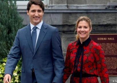 صوفيا زوجها جاستن رئيس وزراء كندا