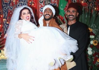 محمد رمضان وسمية الخشاب وأحمد سعد