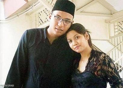 رضوان وزوجته
