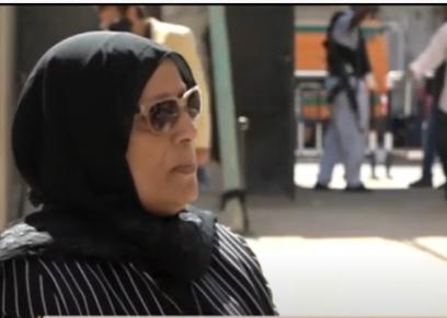 سناء بشاري، والدة الشهيد الرائد أحمد الهواري