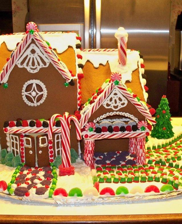 افكار مختلفه gingerbread house
