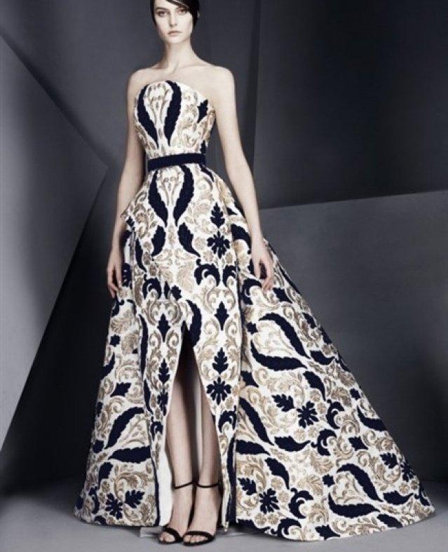 تصاميم رائعة لفساتين زفاف وسهرة 2017 من توقيع السعودي محمد آشي