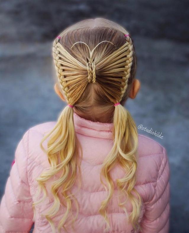 الكتاكيت والعصافير والفيونكات تسريحات شعر الفتيات في الربيع