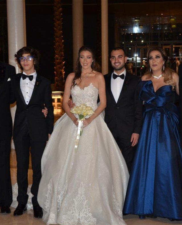 بهاء سلطان وآلاكوشنير في حفل زفاف ياسمين وحسين