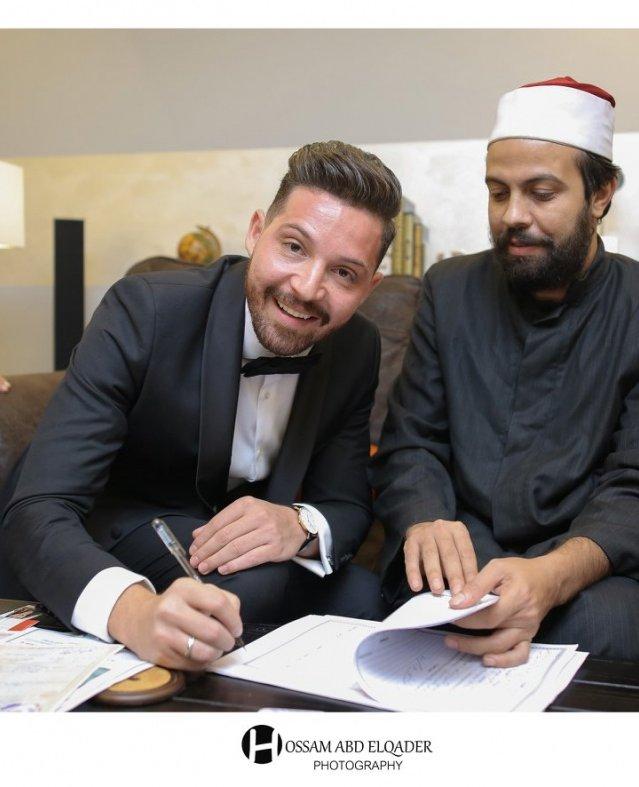 محمود حجازي وأسما شريف منير