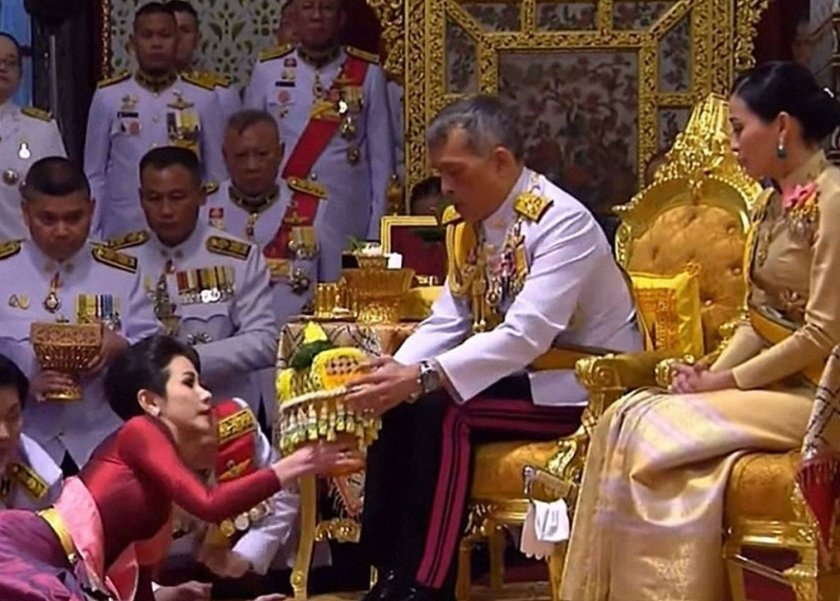 حفل زفاف ملك تايلاند