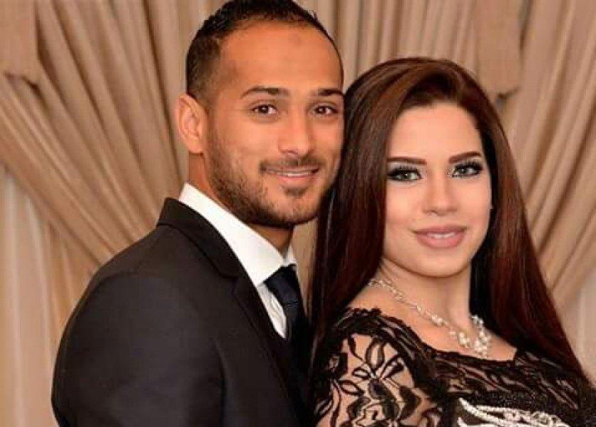وليد سليمان وزوجته