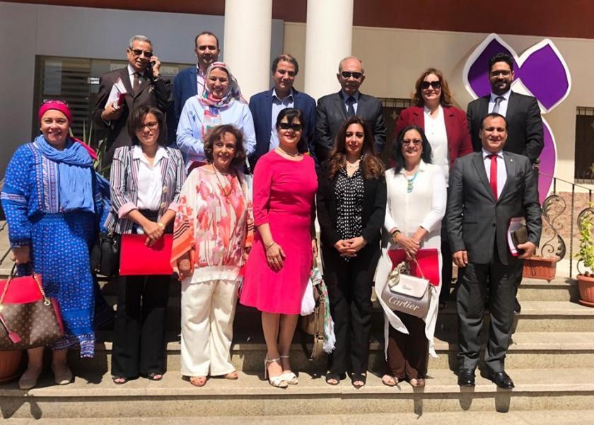 أعضاء المجلس القومي للمرأة