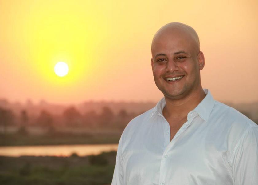 محمود نجاح رئيس مسابقة Miss Elegant