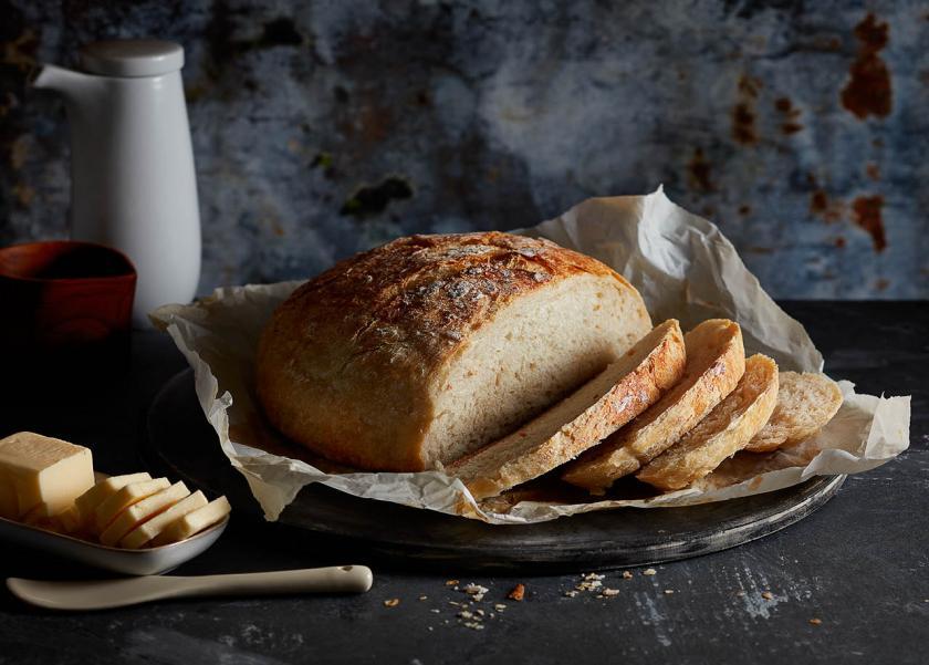 طريقة عمل الخبز المشبع