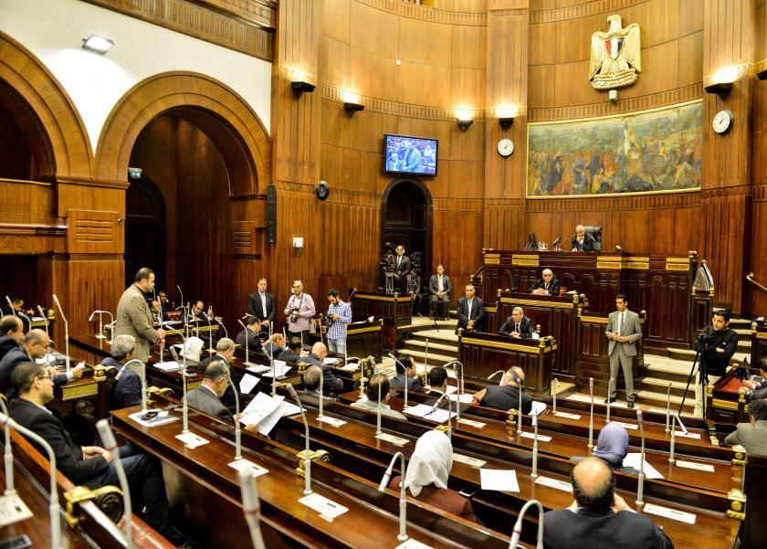 اجتماع للجنة التشريعية للبرلمان