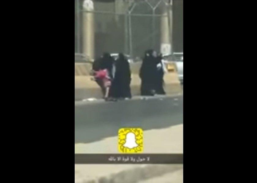 لقطة من مقطع الفيديو