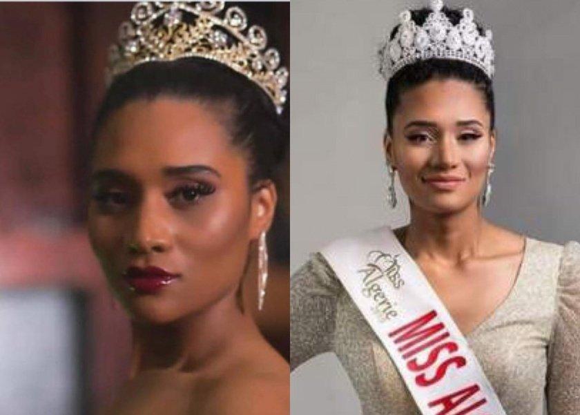 القصة الكاملة للتنمر ضد ملكة جمال الجزائر بسبب لون بشرتها