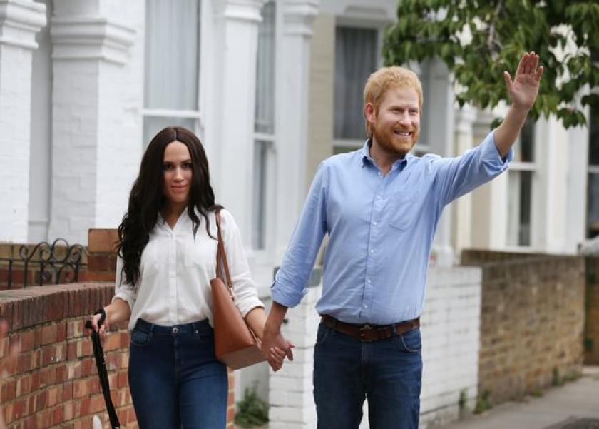 ميجان وزوجها الأمير هاري