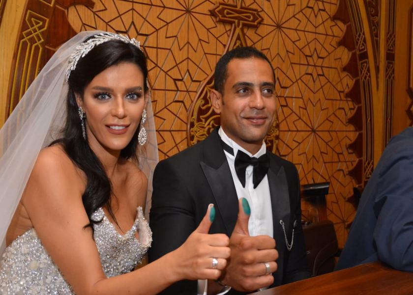 زفاف هبة السيسي