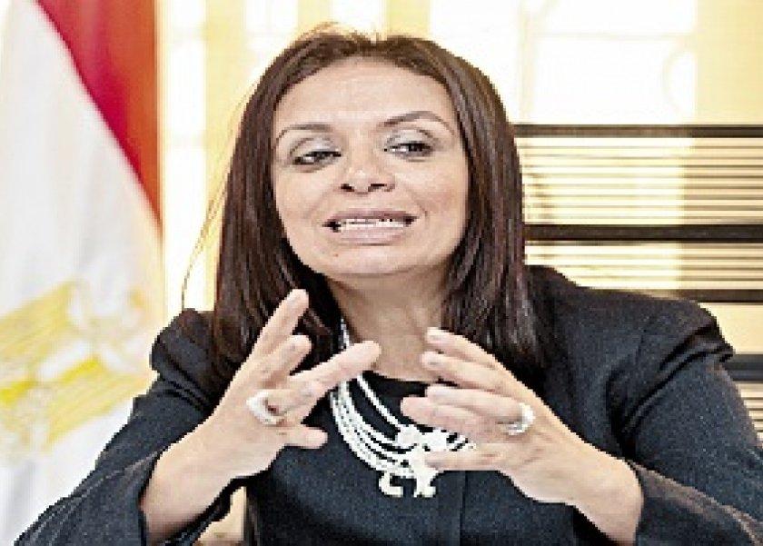 الدكتورة مايا مرسى رئيس المجلس القومى للمراة