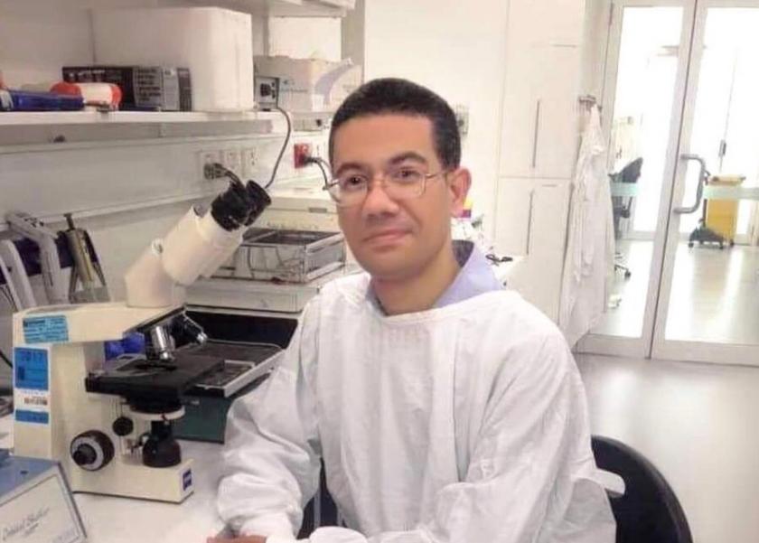 البروفيسور المصرى محمد إسلام استاذ مساعد امراض الكبد بجامعة سيدني