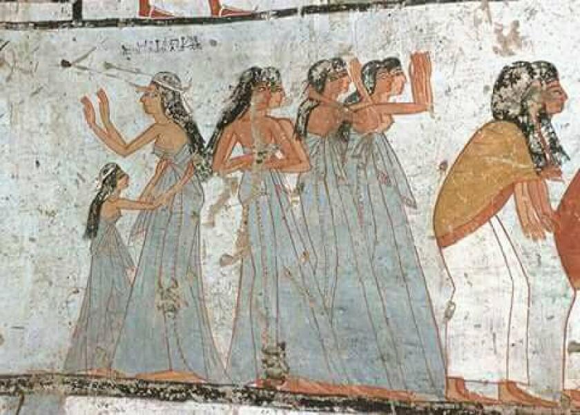أزياء المرأة الفرعونية