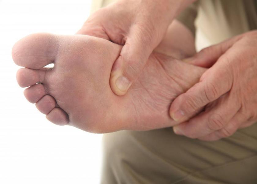 أمراض يتم اكتشافها عن طريق القدم