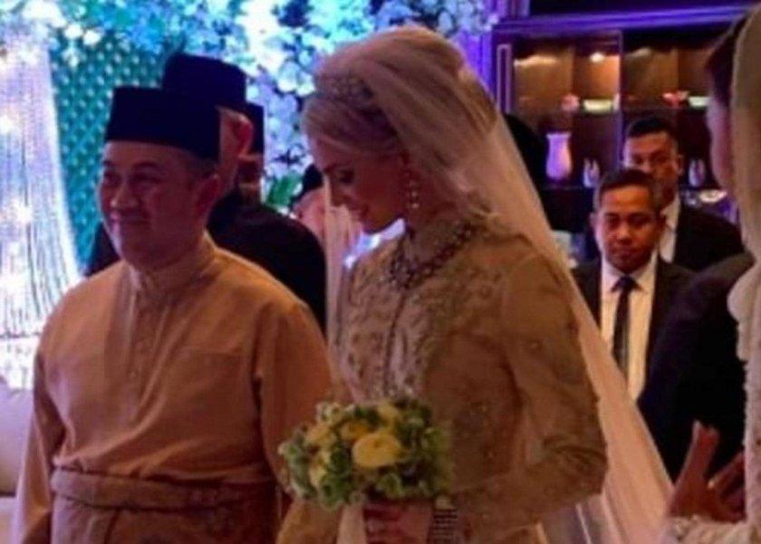 فيديو| زفاف ولي العهد الماليزي على مُربية