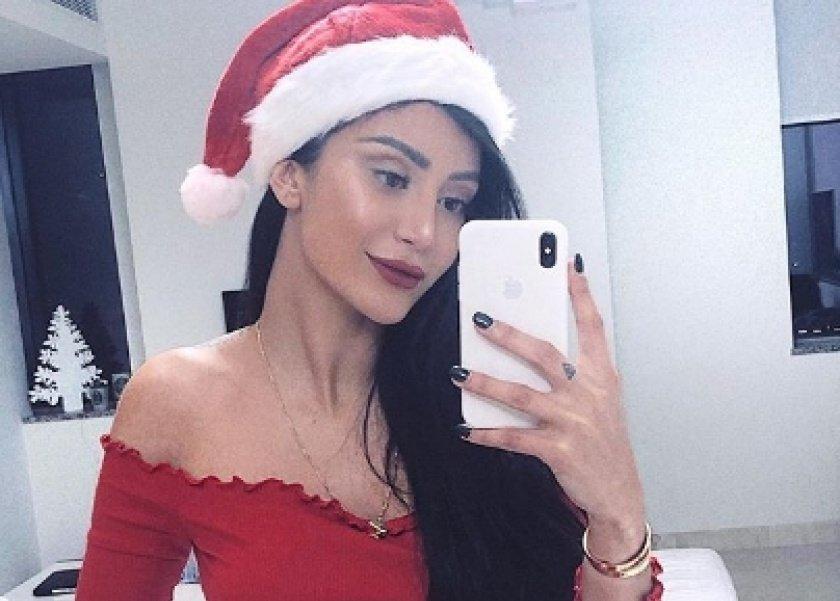 ملكة جمال مصر تحتفل بالكريسماس