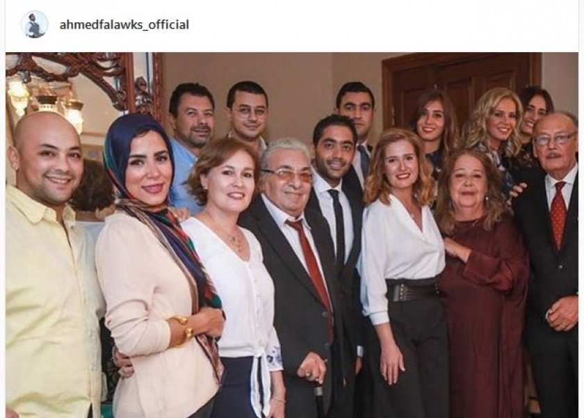 عقد قرن أحمد فلوكس وهنا شيحة