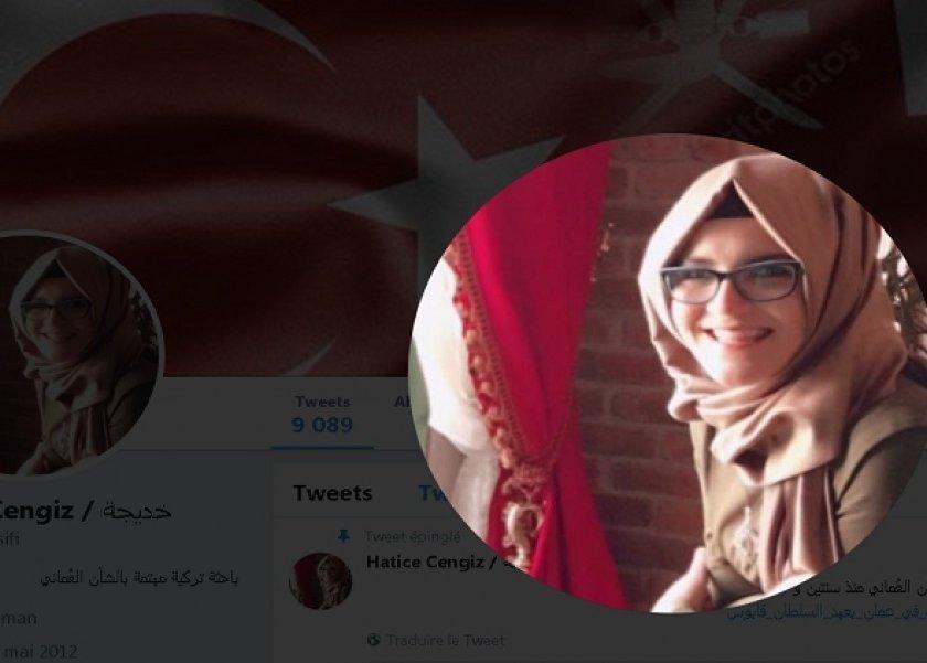 هن بالصور بعد إعلان وفاته من هي خديجة جنكيز التي تلازم اسمها مع قضية جمال خاشقجي