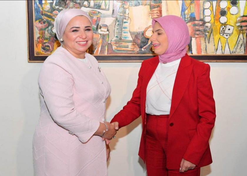 زوجة الرئيس - الإعلامية رضوى حسن