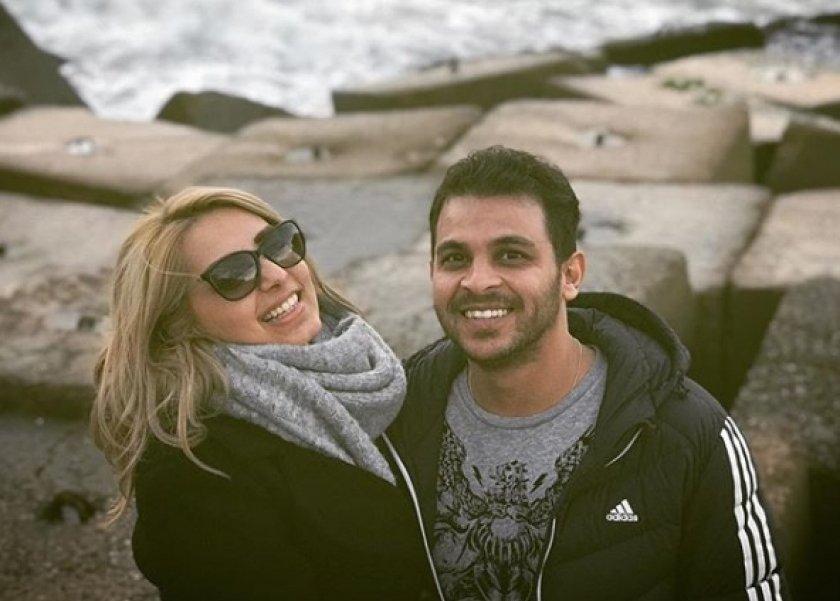 محمد رشاد وخطيبته