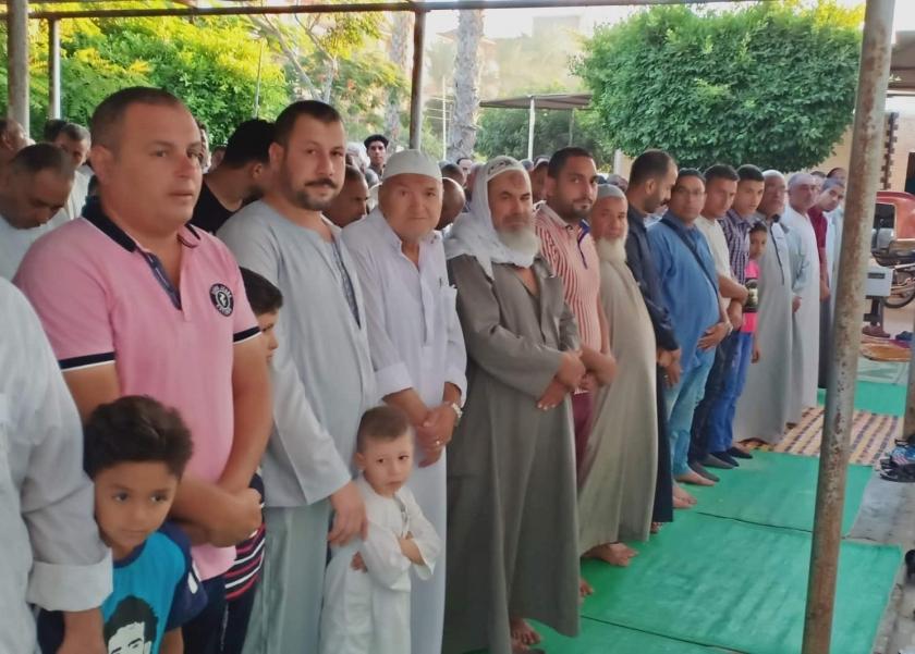 العيد في جامع مصطفي محمود