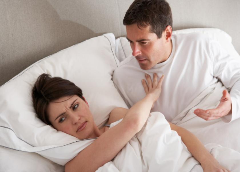 امتناع الزوجة عم زوجها