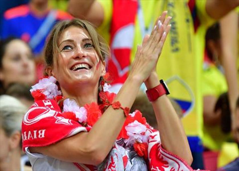 مشجعات بولندا