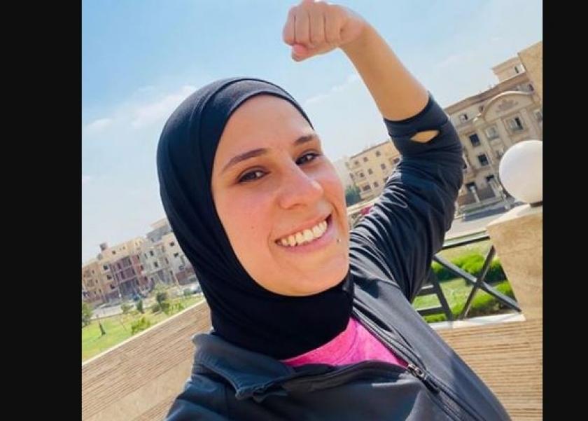 شيماء رجب مدربة لياقة بدنية