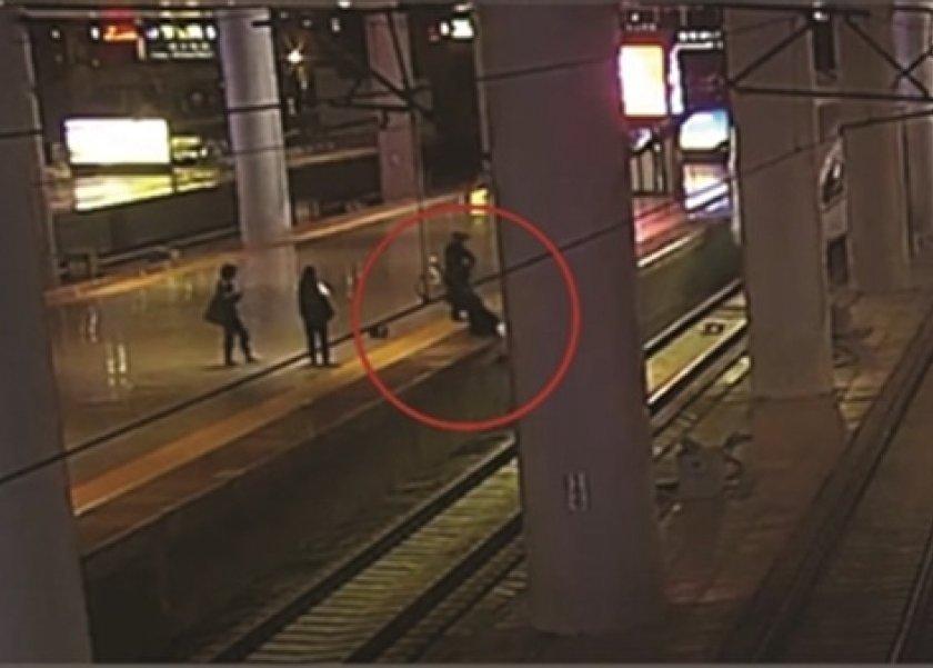 صينية تقفز تحت القطار بعد مشاجرتها مع زوجها: