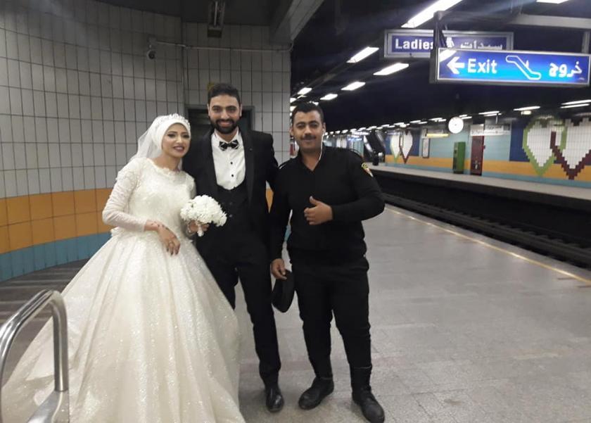 عروس مترو شبرا