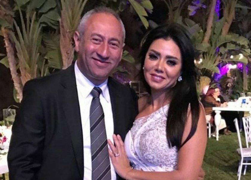 رانيا يوسف وطليقها طارق عزب